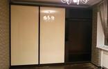 Шкаф-купе: корпус - Венге, двери - бежевый Лакобель