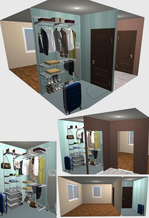 Планировщик гардеробных систем программу