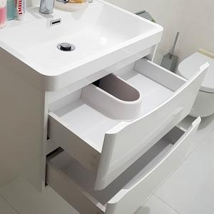 Тумба в ванную с выдвижными ящиками