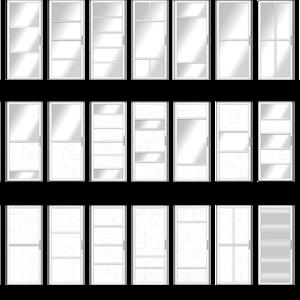 Модели раздвижных дверей