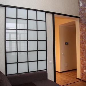 Дверь-перегородка в Японском стиле